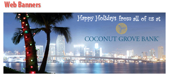 Coconut Grove Bank Holiday Banner